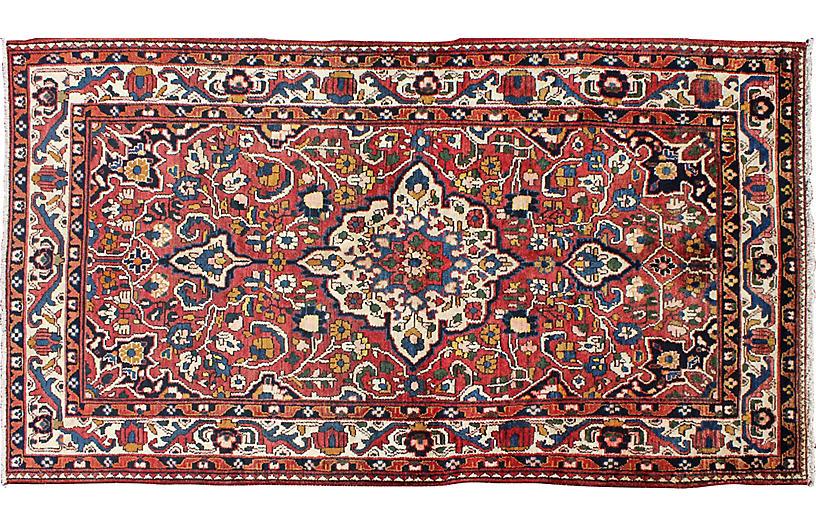 Persian Bakhtiari Rug, 4'5