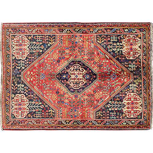 """Persian Rug, 4'1"""" x 6'"""