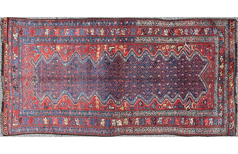 Antique Malayer Rug, 3'8