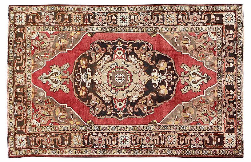 Antique Oushak Rug, 5'10
