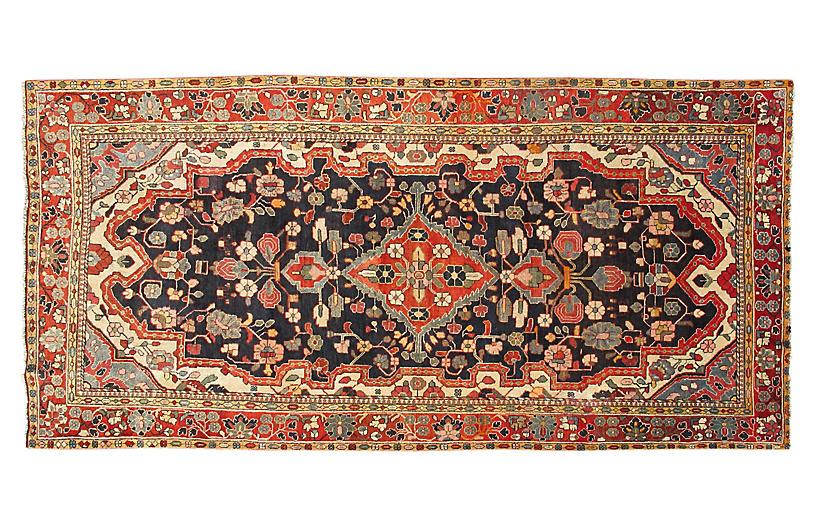 Vintage Persian Mahal Runner, 5'2 x 11'4