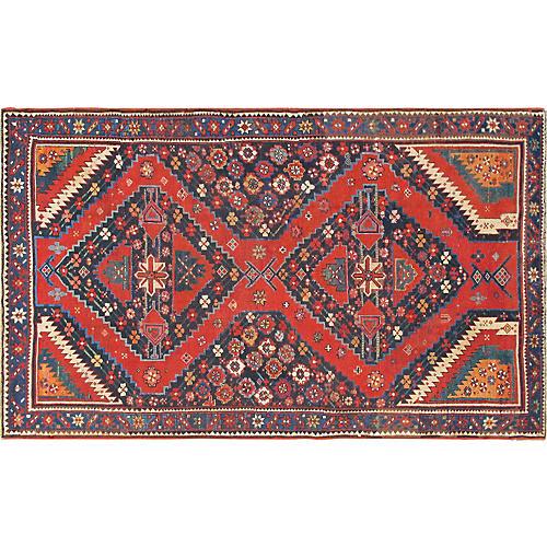 "Antique Caucasian Karabagh, 4'6"" x 7'9"""