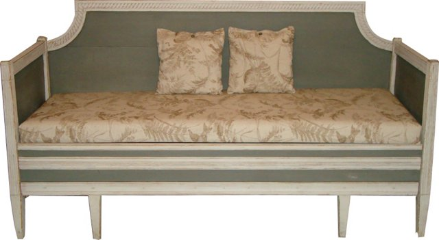 Gustavian Trundle Sofa