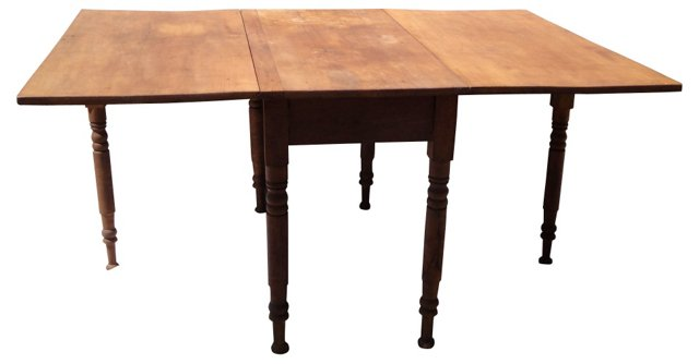 Drop-Leaf Gate-Leg   Table