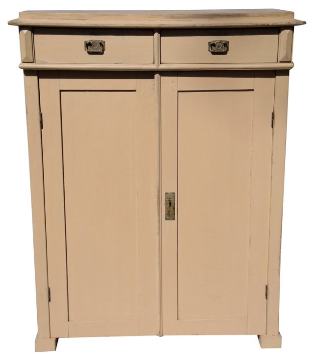 Gustavian-Style Painted Sideboard