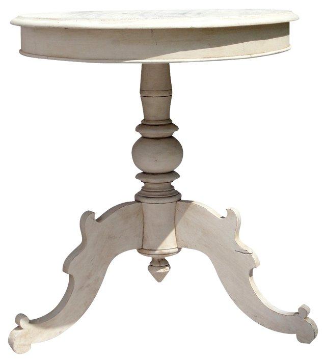 Gustavian Oval Side Table