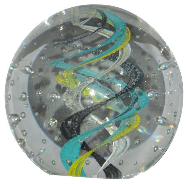Murano Swirled Paperweight