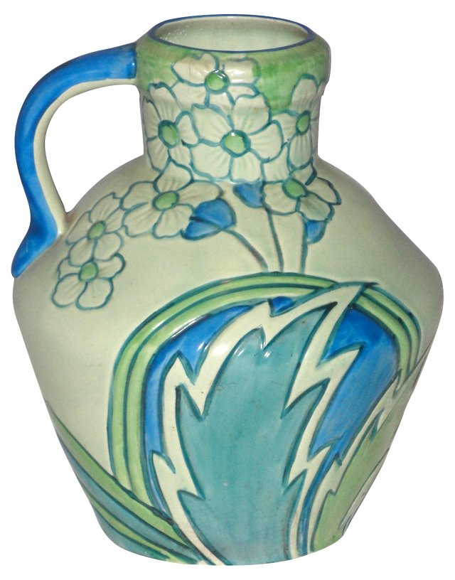 English Ceramic Pitcher