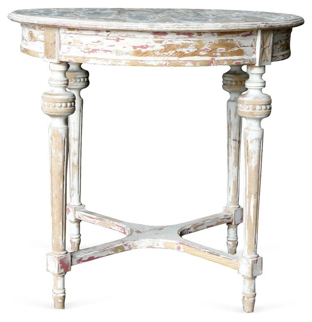 Gustavian  Painted  Table