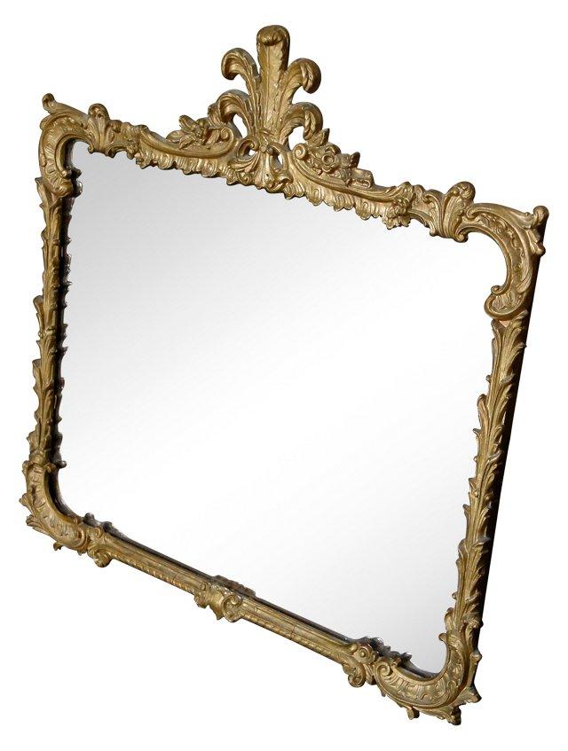 Gilt Acanthus Mirror