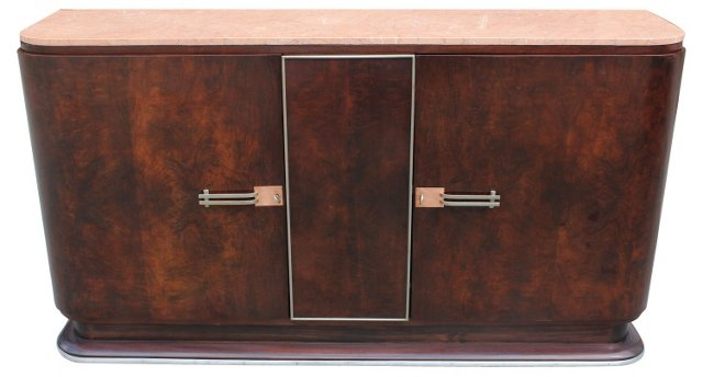 French Art Deco Rosewood Buffet