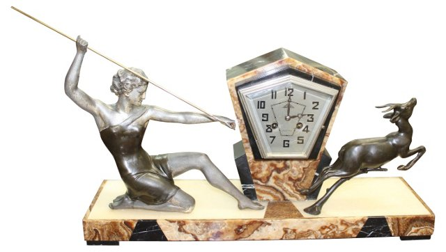 Diana the Huntress Clock by Uriano
