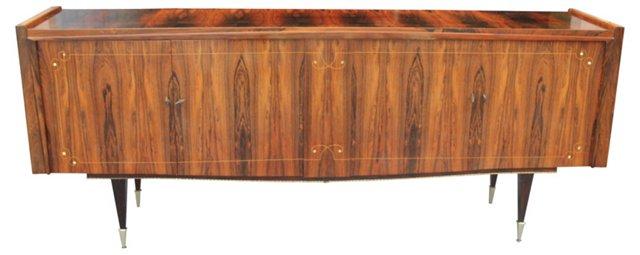 French  Deco Macassar Ebony Sideboard
