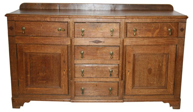 18th-C. Oak Welsh Buffet