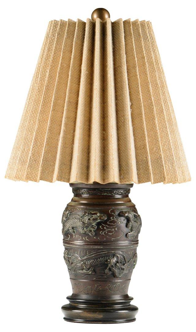 Bronze Dragon Lamp
