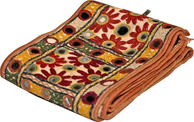 Antique Shisha Carrying Strap, Beige