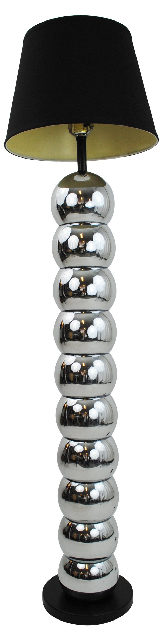 Silver Ball Floor Lamp