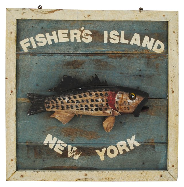 Fisher's Island Sign