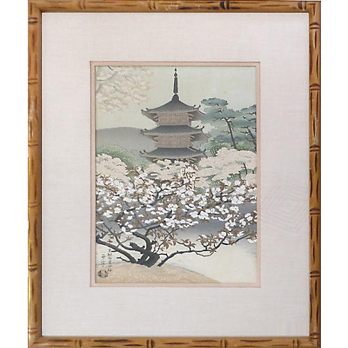 Japanese Pagoda by Benji Asada