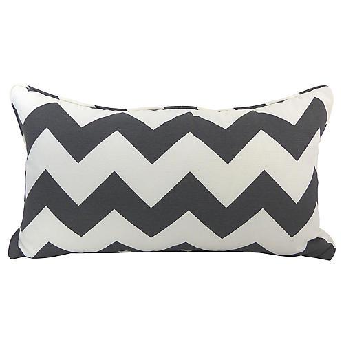 Chevron Pattern Kidney Pillow