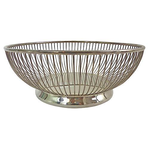 Gorham Silver-Plate Basket