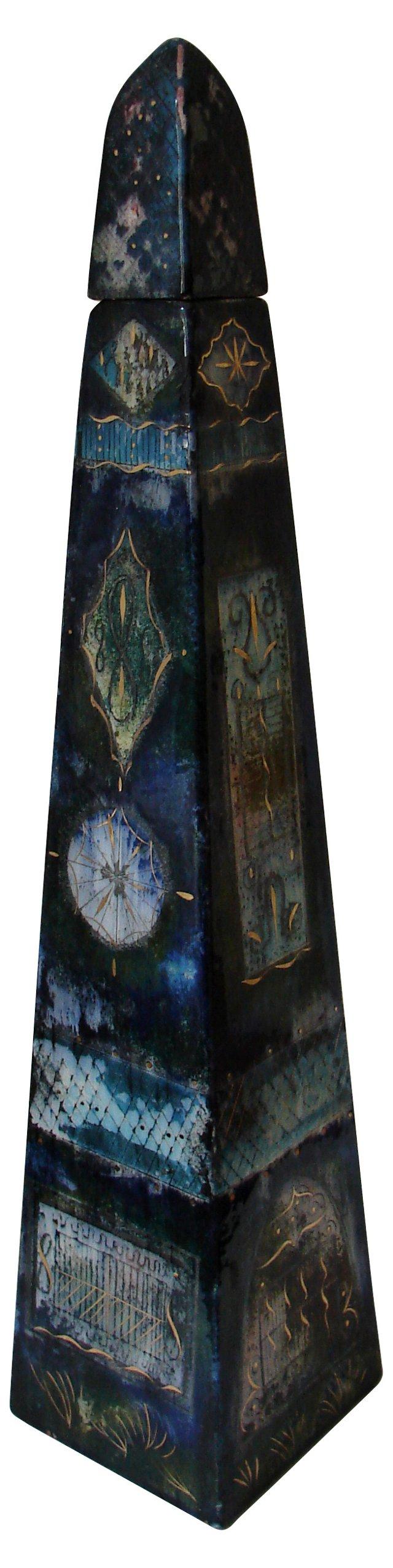 S. Brastoff Obelisk Decanter