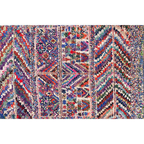 "Moroccan Rug, 5'6"" x 8'8"""
