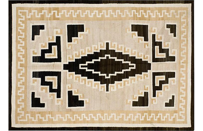 Navajo-Style Rug, 5'4