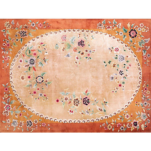 "ChineseArt Deco Rug 8'10"" x 11'8"""