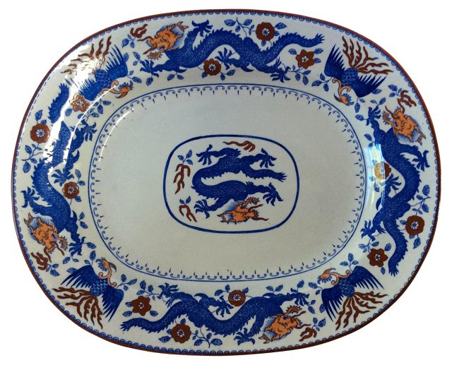 English Dragon Platter