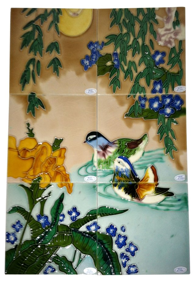 Chinese Tile Mural