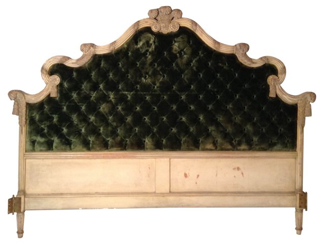 Tufted European Headboard
