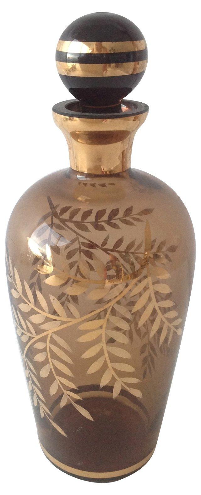Amber Vanity Bottle