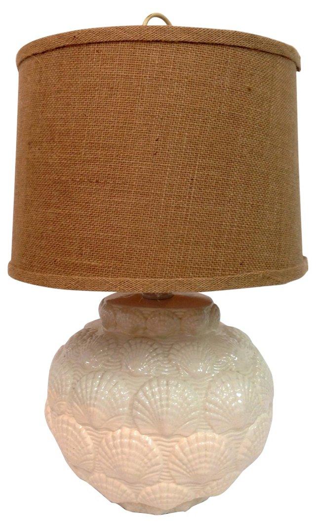 Shell Ceramic Lamp