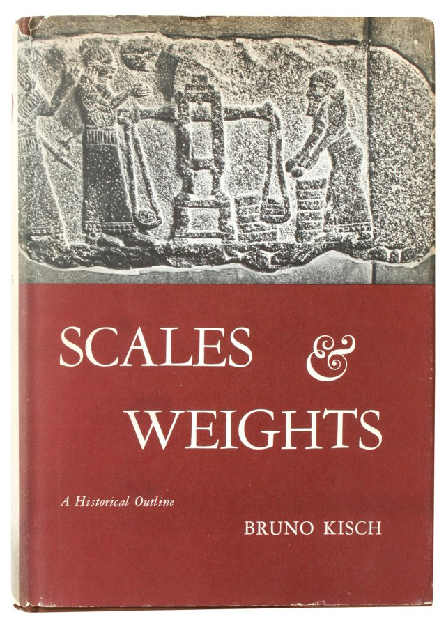 Scales & Weights, 1st Ed, Signed