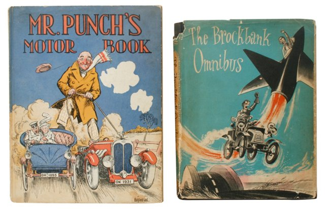 Punch's Motor Book & Brockbank Omnibus