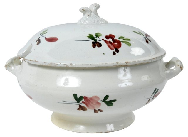 Antique Italian Soup Tureen