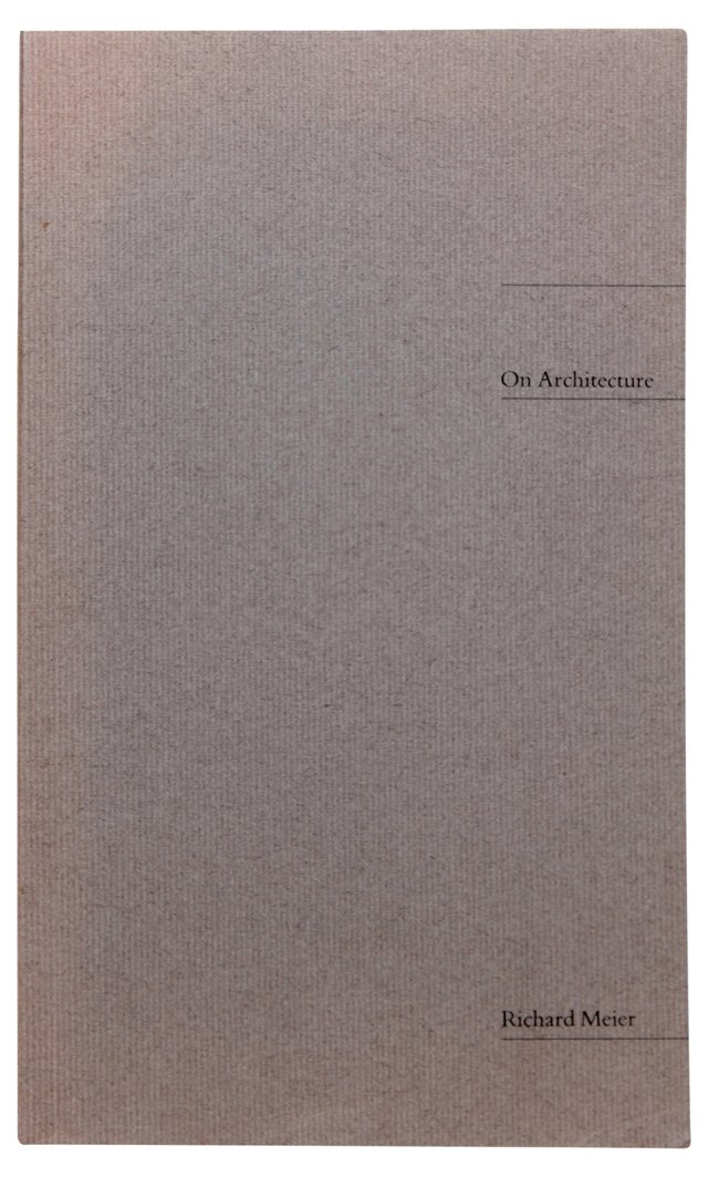 On Architecture, Limited Signed 1st Ed