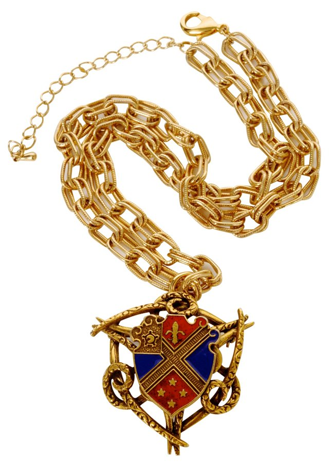 Coat of Arms Pendant Necklace