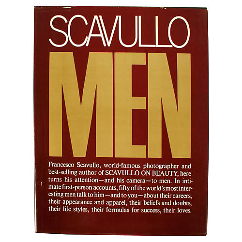 Scavullo on Men, 1st Ed