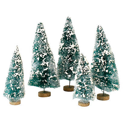 A Forest of Small Flocked Trees S/5