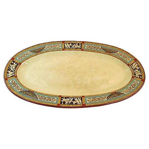 Wedgwood Pompeii Platter, C. 1880
