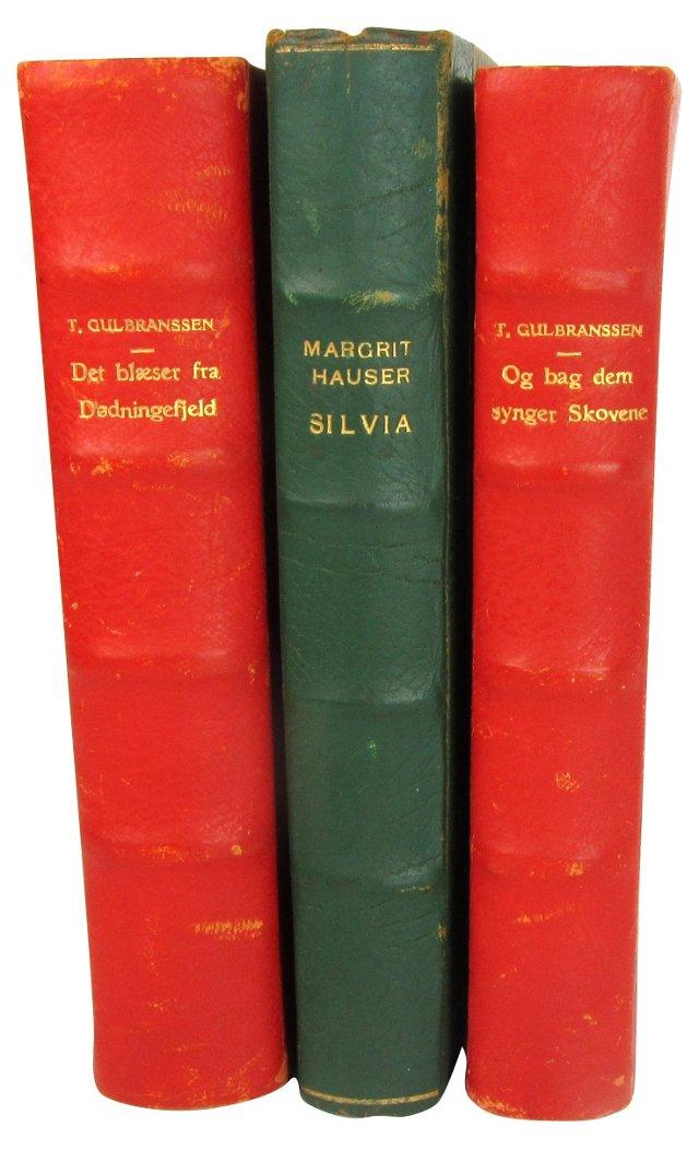 1930s Swedish Books, S/3