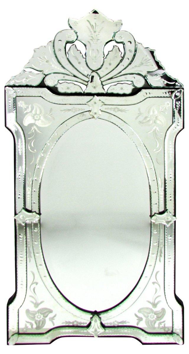 Venetian Cut-Glass Mirror