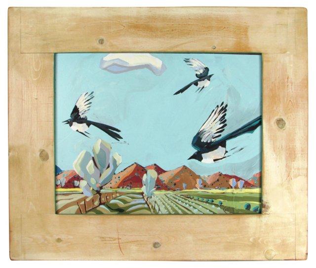 Birds in Flight (Two-Sided)