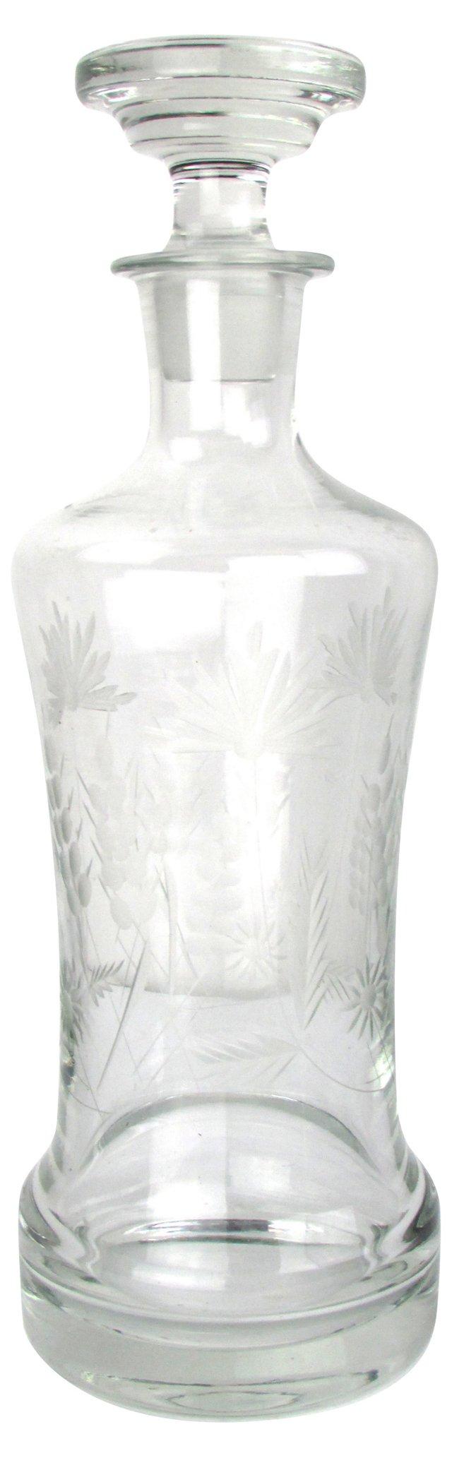 Cut-Glass Decanter