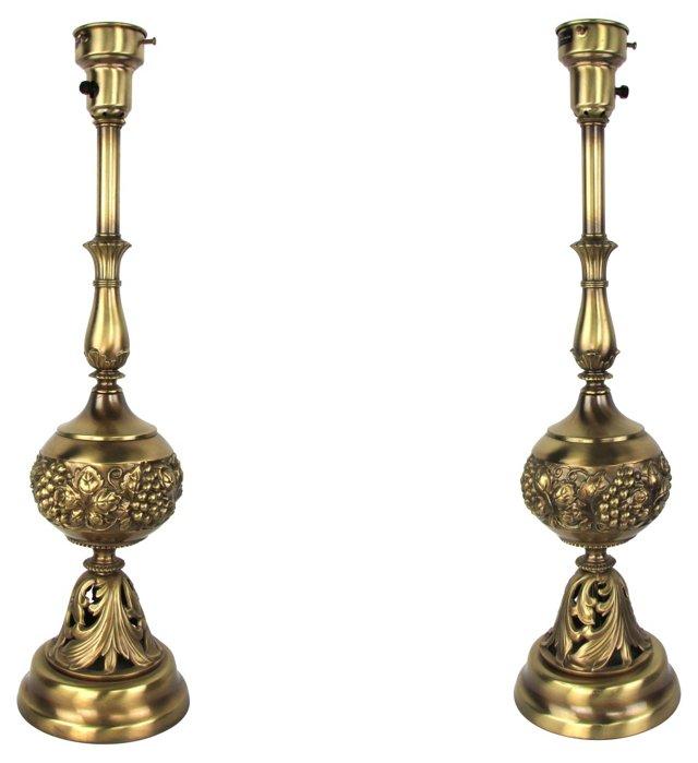 Colonial Premier Lamps, Pair