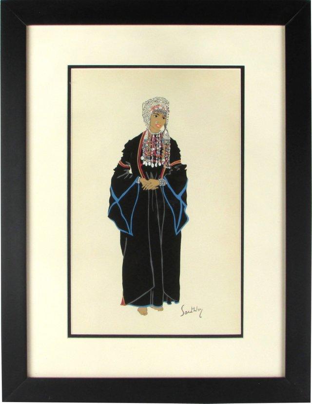 Bedu Woman by Susan Southby