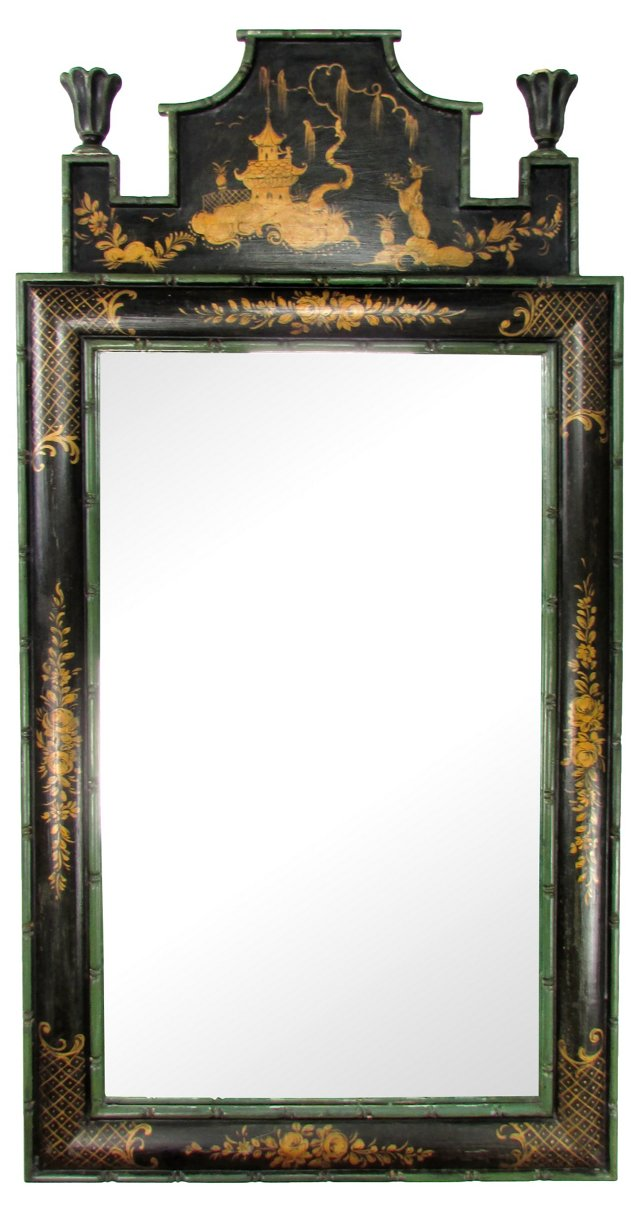 Paoletti Italian Chinoiserie Mirror