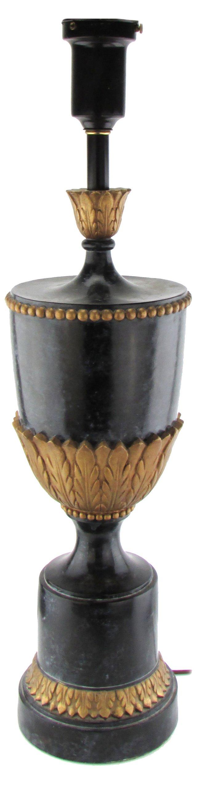 Urn-Shaped Lamp